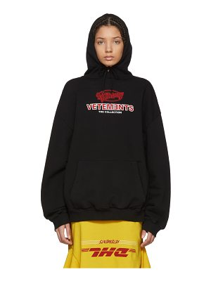 VETEMENTS Graphic Logo Oversized Hoodie