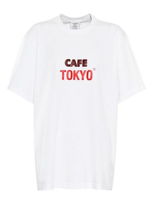 VETEMENTS printed cotton t-shirt