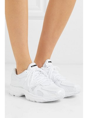VETEMENTS reebok runner 200 rubber-trimmed mesh sneakers