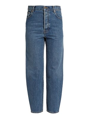 VETEMENTS X Levi's high-rise cropped jeans