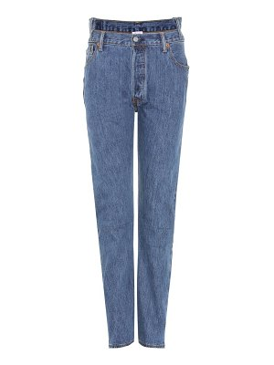 VETEMENTS X Levi's® high-waisted reworked denim jeans
