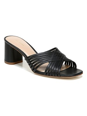 Via Spiga Rafaela Leather Mule Sandals
