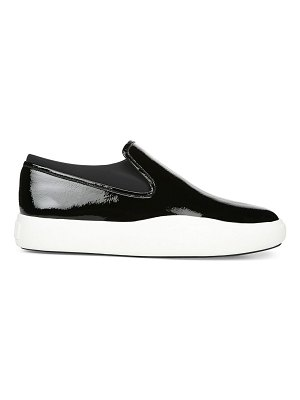 Via Spiga yvonne patent slip-on sneakers