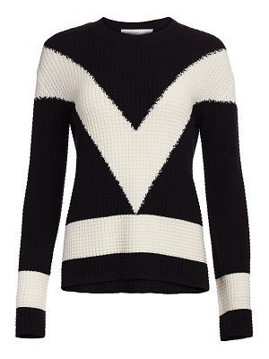 Victor Glemaud colorblock cotton cashmere sweater