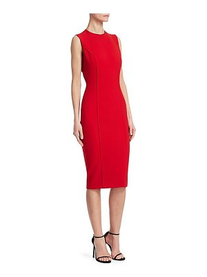 Victoria Beckham curve seam sheath dress
