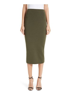 Victoria Beckham fitted knit skirt