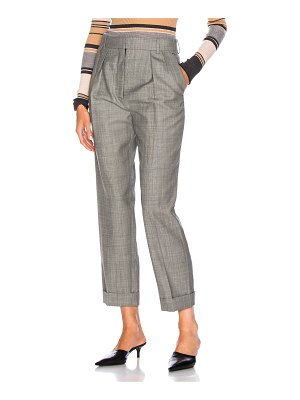 Victoria Beckham High Waisted Pleated Trousers