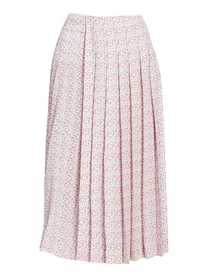 Victoria Beckham multi pleat midi skirt