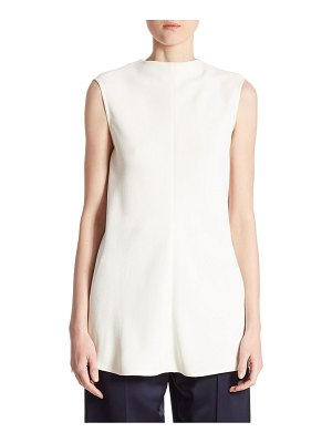 Victoria Beckham Open-Back Martingale Top