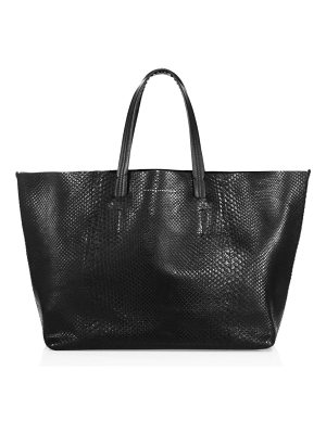 Victoria Beckham Python Leather Tote