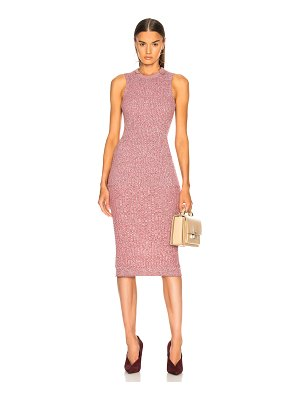 Victoria Beckham Rib Change Sleeveless Dress