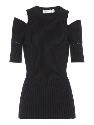 Victoria Beckham Ribbed wool top