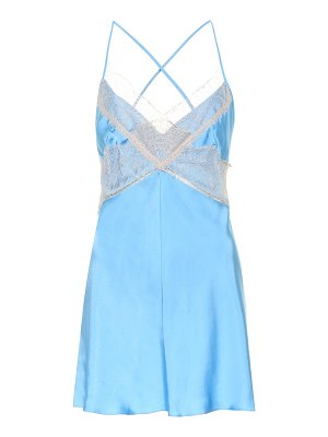 Victoria Beckham Satin and lace camisole