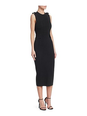 Victoria Beckham signature sleeveless dress