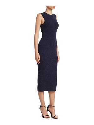 Victoria Beckham signature sleeveless slub dress