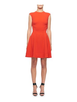 Victoria Beckham Sleeveless Fit & Flare Dress