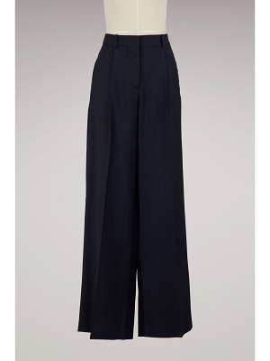 Victoria Beckham Straight-cut flowing pants