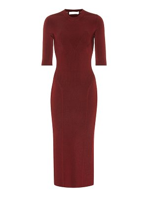 Victoria Beckham stretch bodycon midi dress