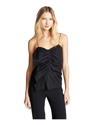 Victoria by Victoria Beckham asymmetric tuck top