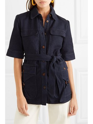 Victoria by Victoria Beckham belted denim jacket