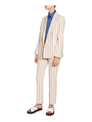 Victoria by Victoria Beckham Classic Striped Jacket
