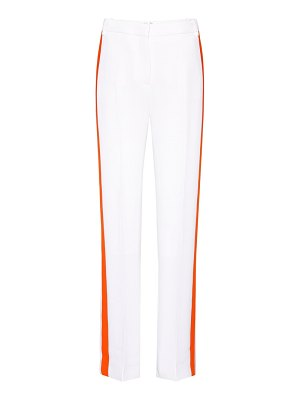 Victoria by Victoria Beckham crêpe striped trousers