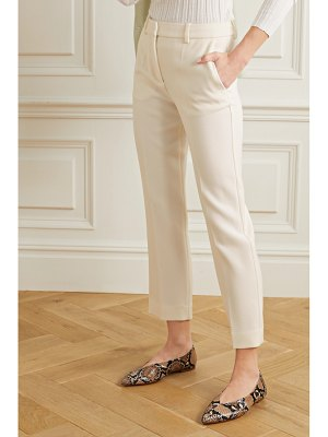 Victoria by Victoria Beckham cropped crepe flared pants