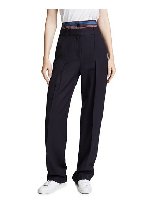 Victoria by Victoria Beckham double waistband pants