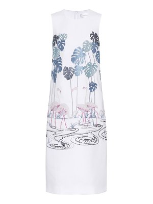 Victoria by Victoria Beckham Embroidered crêpe dress