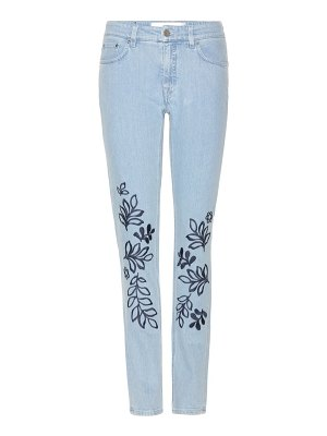 Victoria by Victoria Beckham embroidered jeans