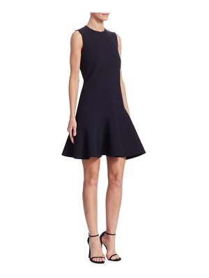 Victoria by Victoria Beckham flounce-hem shift dress