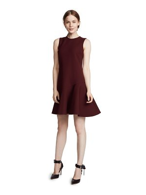 Victoria by Victoria Beckham flounce hem shift dress
