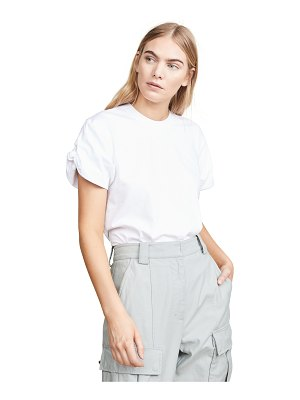 Victoria by Victoria Beckham knotted sleeve t-shirt