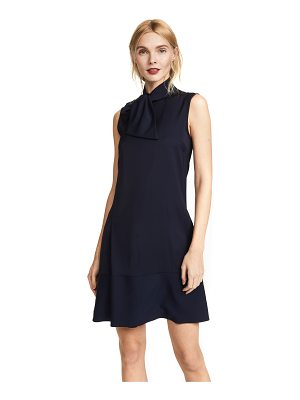 Victoria by Victoria Beckham neck tie shift dress