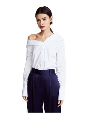 Victoria by Victoria Beckham one shoulder shirt