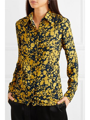 Victoria by Victoria Beckham printed crepe shirt