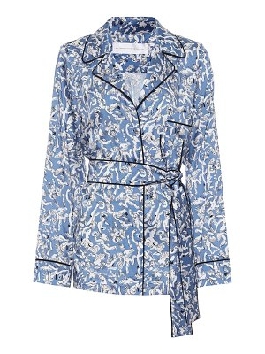 Victoria by Victoria Beckham printed top