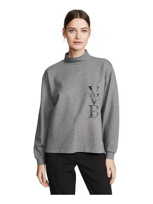 Victoria by Victoria Beckham raised logo top