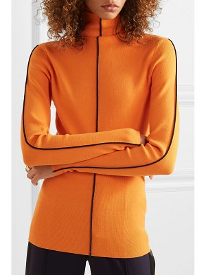 Victoria by Victoria Beckham ribbed-knit turtleneck sweater
