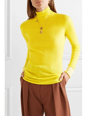 Victoria by Victoria Beckham ribbed wool turtleneck sweater