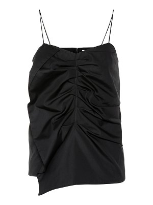 Victoria by Victoria Beckham ruched cotton tank top