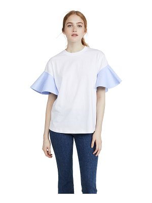 Victoria by Victoria Beckham ruffle sleeve t-shirt