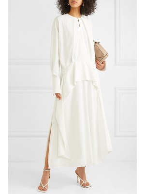 Victoria by Victoria Beckham ruffled crepe midi dress