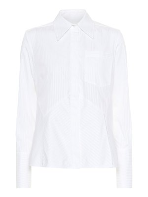 Victoria by Victoria Beckham striped cotton shirt