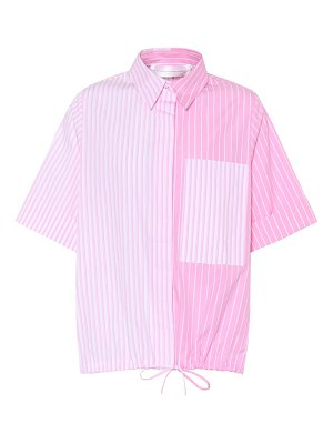 Victoria by Victoria Beckham Striped cotton top