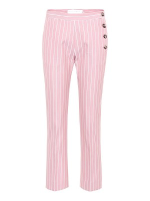 Victoria by Victoria Beckham striped cotton trousers