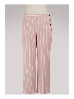 Victoria by Victoria Beckham Striped pants