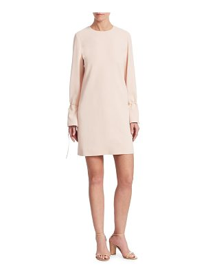 Victoria by Victoria Beckham tie-cuff shift dress