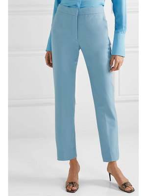 Victoria by Victoria Beckham twill straight-leg pants