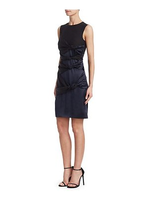Victoria by Victoria Beckham twisted sleeveless knot dress